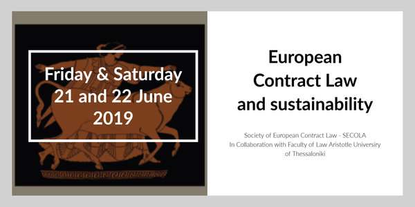 European Contract Law and sustainability